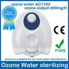 ozone sterilizing air purifier AC110V 50/60Hz  400mg/H Timing Function free shipping fruit ozone water free shipping  wholesale(China (Mainland))