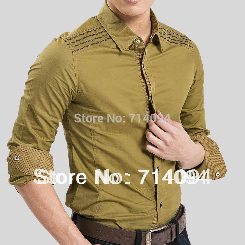 Shipping New Item Design Fashion Mens Shirts ,Casual Slim Fit Stylish ...