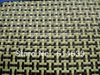 3K  carbon and 1500D Kevlar hybrid fabric  I shaped  200g/sqm,Hot sale