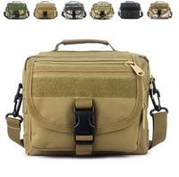 Molle Camouflage outside sport wild tactical hiking formal man shoulder messenger crossbody bag discount sale promotional item