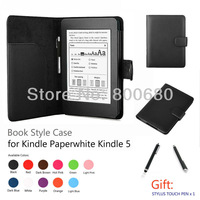Kindle Paperwhite case+1 stylus touch pen, 11 colors are available, free shipping