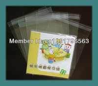 "200pcs Clear Plastic Gift Bag 225x220+30mm (8.86""x8.66""+1.18 FLAP)Self Seal Bag Resealable Opp Bag"