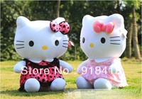 Free Shipping,Giant plush hello kitty toys 75cm size ,hellokitty doll, toys for girls,birthday git,gifts for new year 1pc