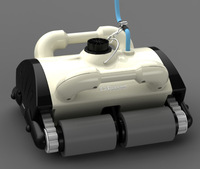 Free Shipping Intelligent Pool robot cleaner,Auto pool cleaner,With  Wall Climbing Function