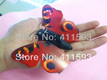 Free shipping  2pcs/lot Solar Toy Butterfly+Wings Better in the Sunlight+Solar Animal Gift Toy+Educational Kits