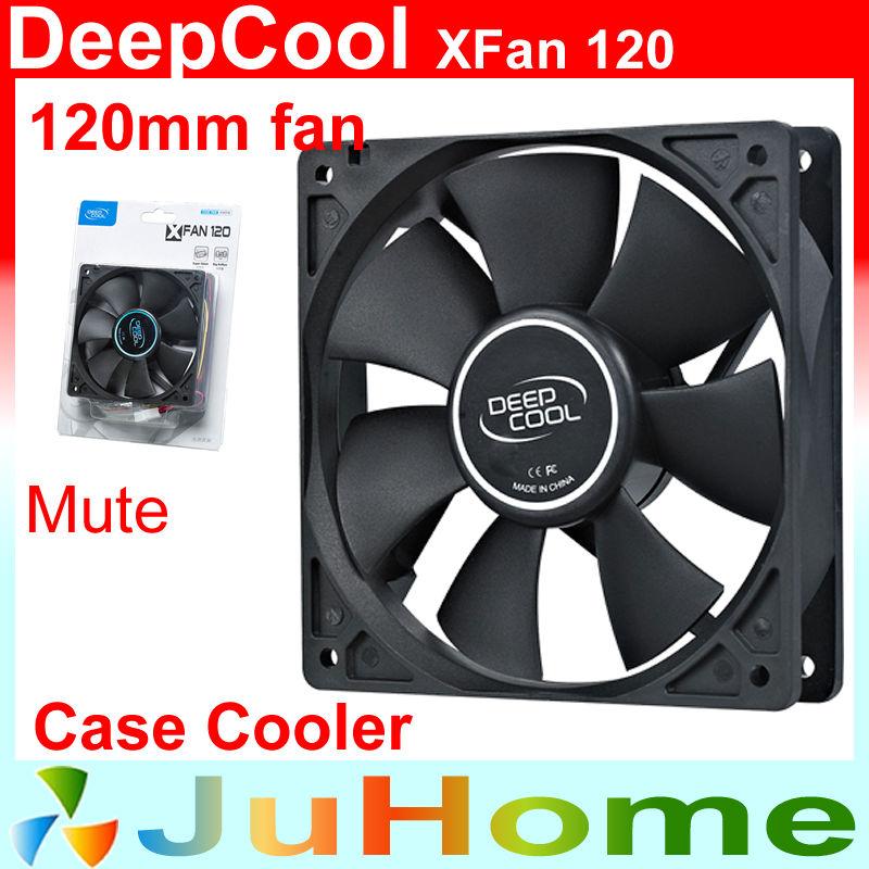 120mm, 12cm fan, 12025 Single fan, super mute, for power supply, for computer Case cooler, DeepCool XFAN 120(China (Mainland))