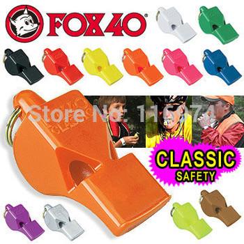 Free shipping 50pcs/lot Fox4 classic whistle