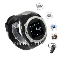 MQ998 Watch Phone Quad Band Single SIM with 1.5 inch Touch Screen FM Bluetooth Free Shipping