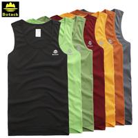 BOTACK BRAND Men's quick dry sleeveless Tee shirt , UPF sun protection T shirt, vest  LMT2-7077