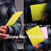 New arrival Korea candy colour iface case for mini ipad TPU smart cover cases for ipad mini,Free shipping