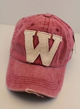 Summer 2013 w letter water wash denim baseball cap male women's lovers hat