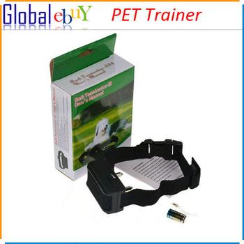 Anti Bark Collar Dog Training Electric Shock Pet Collar Safety CE Proof Vibration Black Lightweight Small Fast 1pcs