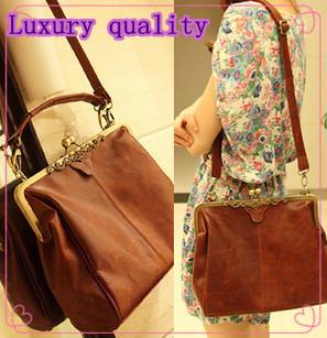 2014 Famous Six Colors Women Brand Fashion Vintage Leather Shoulder Bag Ladies' Handbag