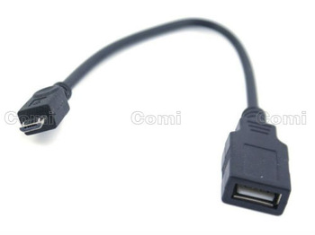 Free shipping dropshipping 5 piece a lot Micro USB OTG Host Cable for tablet pc,mobile phone,cell,MID