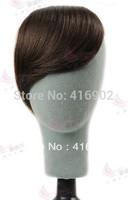 100% human hair bang , fringe , clip in remy human hair extensions 2# dark brown real human hair gradient bang  / fringe