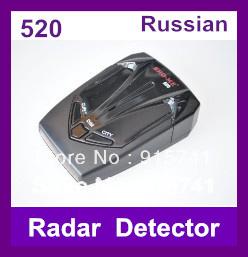 2013 Hotest SHO-ME 520 Radar Detectors with X/K/KA/Ultra-X/Ultra-K/Ultra-KA/VG-2/Laser 360 Degrees ! Wholesale ! Free Shipping !