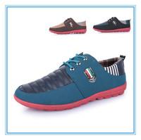 Men Casual Shoes Sneaker British London Style Men Cheap Canvas Shoes Fashion Tide Popular Shoes Items Black Blue Brown Wholesale