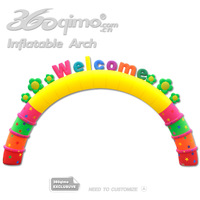 Free shipping hot selling inflatable arch, Welcome arch