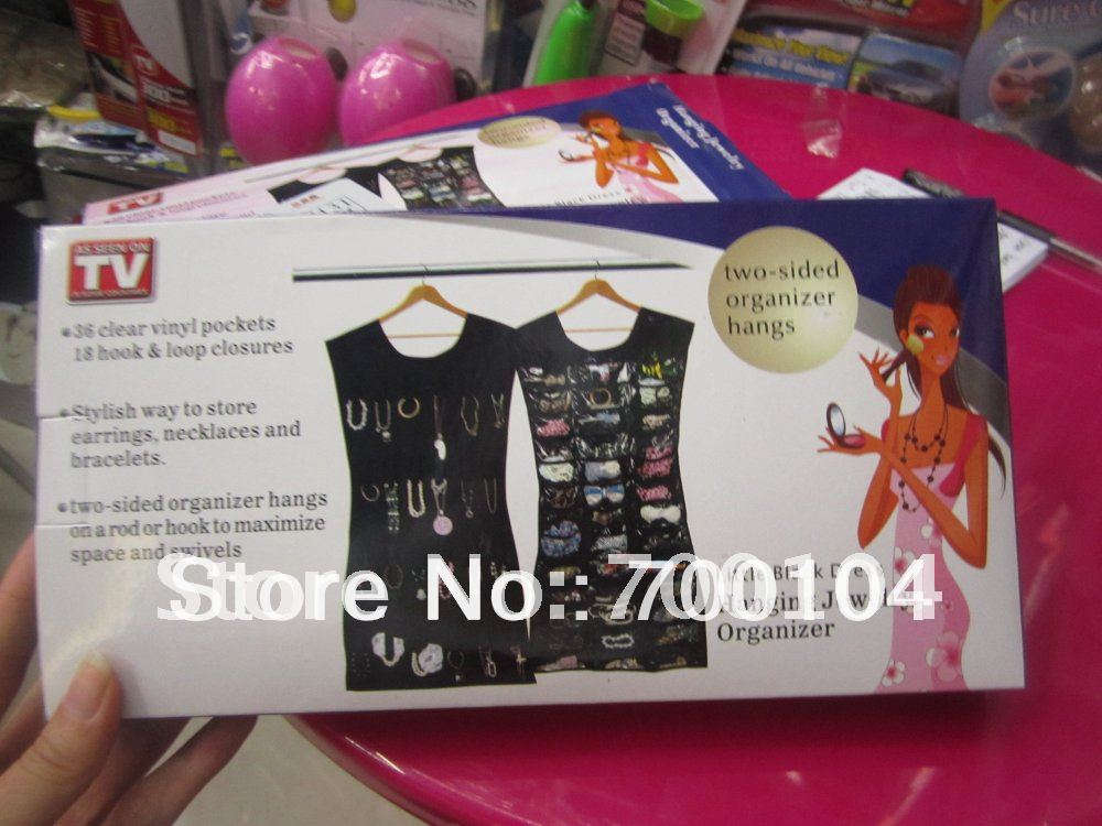 NEW Dress Hanging Jewelery Organizer 400pcs/lot Umbra Little Black Dress As Seem On TV Free Shipping(China (Mainland))