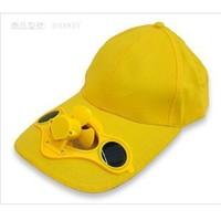 Hot-selling  Summer solar fan cap adult fan cap outdoor travel cap hat with fan electric fan hat