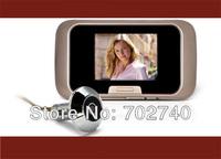 "2013 New 2.8"" LCD Digital Door Peephole Viewer Camera Photo Function Camera Door Viewer Video camera Free Shipping"
