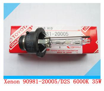 90981-20005 /D2S 6000K,35W Lexus RX400H RX350 RX330 ES300 SC430 OEM Lexus HID Headlight Bulb  Orignal Package In stock 200pcs