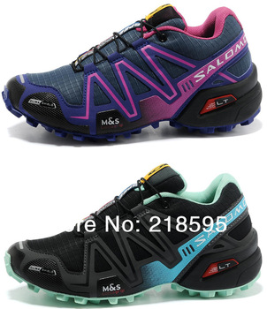 2014 New Salomon Running Shoes Women Sports Shoes Women Athletic Shoes Outdoor Shoes Free Shipping TOP Quality size36-40