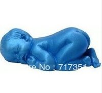 Sleeping Baby Shape Silicone Soap Molds Cake Mould Fondant Decorations G1001