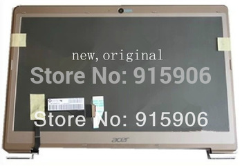 "new 13.3"" laptop LCD monitor screen display assembly for Acer Aspire S3 S3-391 ms2346 + webcam cable  B133XTF01.1 B133XW03 V3"