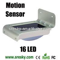 4pcs/lot Home Outdoor Motion Sensor Solar Power Wall Camping Light Lamp  3 Model Bright/DIM/Dark Energy-saving Freeshipp