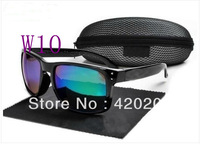 Free shipping new style Frame Womens men sunglasses HOLBROOK Sports Sunglasses black frame Color lens With the case cloth AAGG