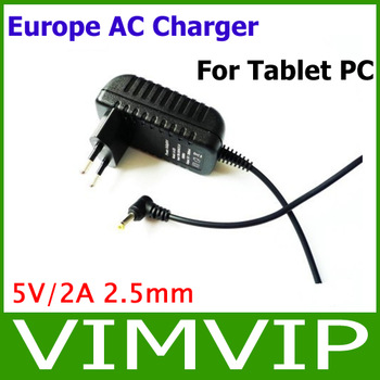 EU Europe AC Charger For Tablet PC Free shipping