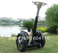 Free shipping (1piece) 2013 New arrival two wheels Self balance personal transporter /1600W powerful Motor moped scooter