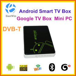 internet set top box /google tv box /Android Smart TV box wifi dvb-t WLAN HDMI(China (Mainland))