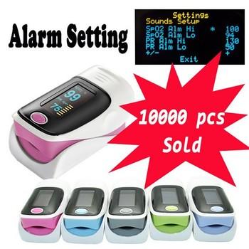 New Upgrade Alarm Setting!!!Health care SH-C2 FDA CE OLED Finger Pulse Oximeter Blood Oxygen SpO2 Saturation Oximetro PR Monitor