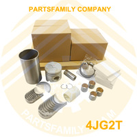 Free Shipping Engine Rebuilt Kit for Isuzu 4JG2 TCM Komatsu Hyster Forklift Trucks