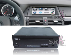 6.5 inch/8.8 inch 1 Din Add-on Car DVD Player for BMW X5 E70 with GPS TV Bluetooth Function(China (Mainland))