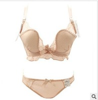 Free Shipping Foreign trade of the original orders-sexy gathering W-shaped bra sets lingerie Wholesale and Retail