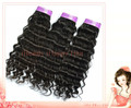 Cheap Wholesale hair extensions 10''-30'' 100% Brazil Virgin hair weft off Black deep wave weave 100g/pc Free shipping 10pc/lot