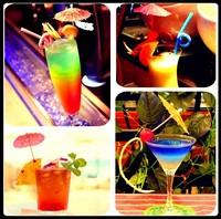 Free ship,600pcs/lot, Multicolor Paper Tropical Hawaiian Cocktail Drink Parasol Umbrella