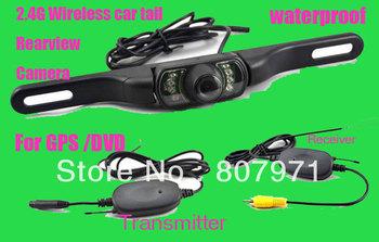 2.4G Wireless Car Rear View Camera for GPS Day/Night wireless rear camera waterproof