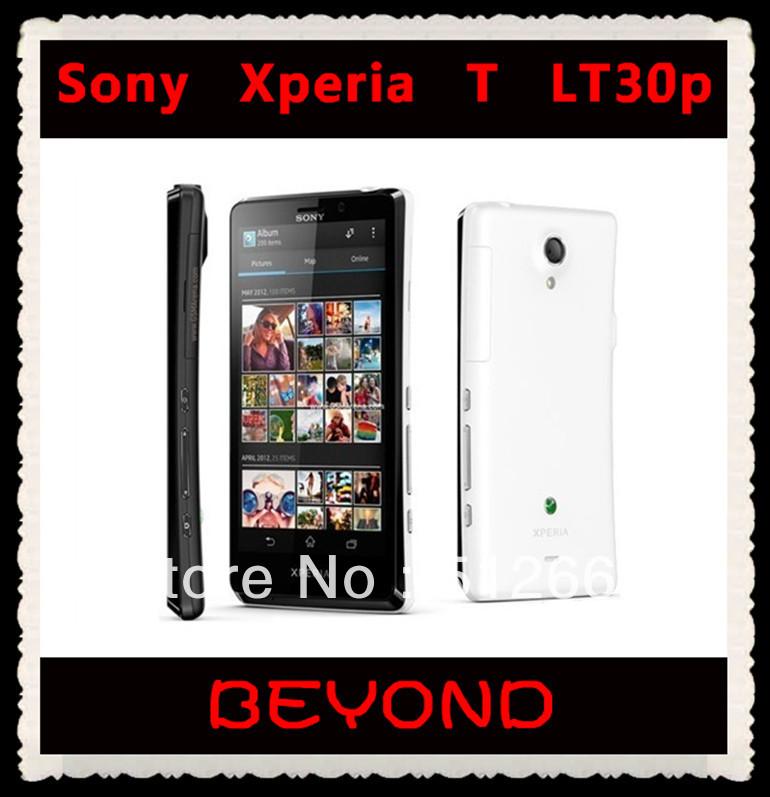Sony Xperia T LT30P Original Unlocked Mobile Phone Sony LT30p 16GB Dual-core 3G GSM WIFI GPS 4.55'' 13MP Smartphone dropshipping(China (Mainland))