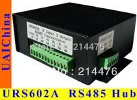 URS602A 6 channels input 2 channels output, half-duplex RS485 hub. Designed for CCTV system control.