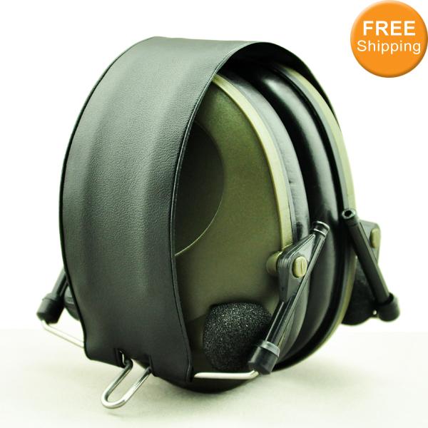 Анти шума спорт охота электронная наушник съемки уха защита тактический защитные наушники наушники бесплатная доставка