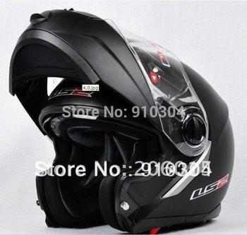 ECE DOT Helmets undrape face helmet  Motorbike helmet  LS2 FF386  Matte Black Ride Helmet Motorcycle Helmets Full Face Helmets