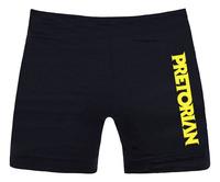 MMA Fighters black shorts muay Thai Jujitsu combat clothing free shipping