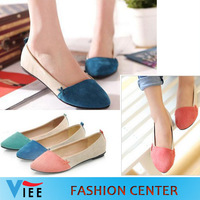 Freeshipping Ballet shoes Low Heels women flats single Casual Comfort  Flats Loafers upgrade version H0002