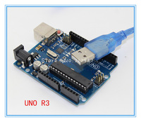 The Latest 100% Brand New~! Factory price UNO R3 ATMEGA328P ATMEGA16U2 + 1PCS USB Cable for Arduino