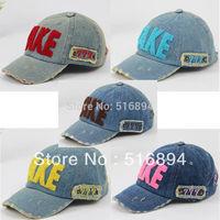 Hot 2013 Spring retail children's baseball cap hat TAKE cowboy hat parent-child cap 5 color children cap unisex  free shipping