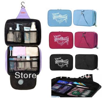 High Quality Large Capacity Hanging Washing Bag, Toiletry Kit, Organizer Case, Travelling Cosmetic Bag 5pcs/lot